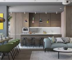 modern home colors interior 3 small apartments that rock uncommon color schemes with floor plans