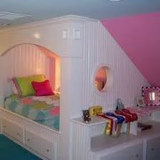 girls room that have a office up stairs kids dormer bedroom ideas beds attic bedrooms upstairs