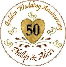 50 wedding anniversary 50th wedding anniversary ebay