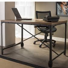 Metal Computer Desks Metal Desks You U0027ll Love Wayfair