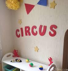 chambre cirque une chambre pour enfant décorée sur le thème du cirque