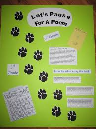 third graders will love a poem nature hunt good for teaching