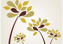 stylized flower free vector art 8052 free downloads