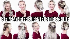 Frisuren Lange Haare F Die Schule by 9 Frisuren In 6 Minuten Wirklich Einfach Schnell Schule Uni