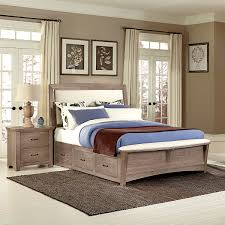 Tidy King Bed With Storage by King Bed With Drawers Vnproweb Decoration
