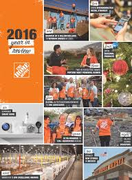 Home Depot Holiday Pay by The Home Depot The Home Depot Year In Review 2016