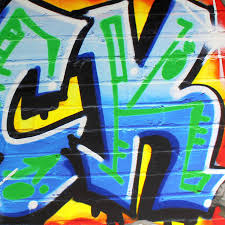 graffiti fist freefight club symbol pop art wall sticker wall personalised blue graffiti wall stickers by nest wall stickers graffiti