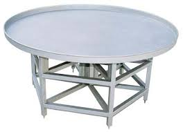 Stainless Kitchen Work Table by Round Stainless Steel Kitchen Work Table Hamburger Former Kitchen