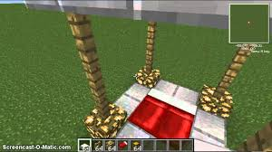 Minecraft How To Make A Bed Minecraft How To Make A 4 Poster Bed Youtube