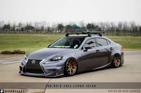 white lexus is 250 2014 jon do is250 slammedenuff