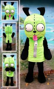 amazing halloween costumes for sale invader zim costumes for sale gir gir costume imaginary