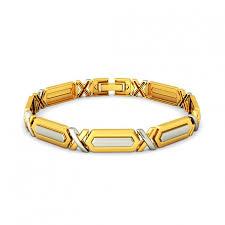 mens gold hand bracelet images Personalized gold bracelet JPG