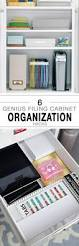 6 genius filing cabinet organization hacks