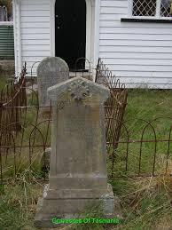 gravesites of tasmania