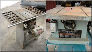 craftsman 10 inch table saw motor i bought used table saws youtube