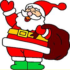 LE PÈRE NOËL : Coloriage le Père Noël en Ligne Gratuit a imprimer