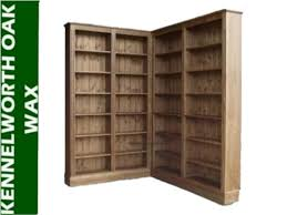 Corner Bookcase Designs Furniture L Shaped 8 Foot Tall Bookcase Made Of Oak Interesting