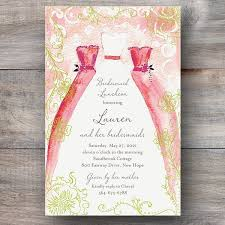 bridesmaids invitations stand by me bridesmaid luncheon invitations celebration bliss
