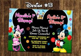 mickey mouse birthday invitations free mickey mouse clubhouse invitations paso evolist co