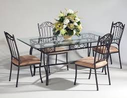 Black Metal Chairs Dining Awesome Metal Dining Table For Fancy Dining Space Setups Ruchi