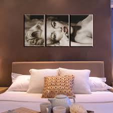 Marilyn Monroe Bedroom by 3 Piece Abstract Canvas Wall Art Marilyn Monroe Picture Black