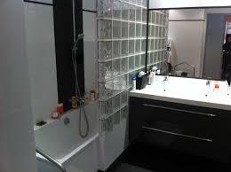 brique de verre cuisine carreaux de verre salle de bain 2017 avec cuisine brique verre