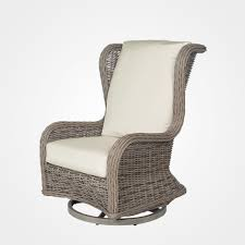 bellevue outdoor club swivel chair ebel stonewood products