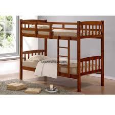 wooden double deck bed frame bdf9 lorenz furniture
