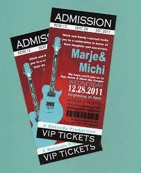 printable diy concert rock n u0027 roll birthday concert tickets