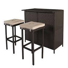 Breakfast Bar Table Breakfast Bars Furniture Amazon Com