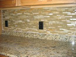 kitchen stick on backsplash stick on glass tile backsplash minimalist kitchen style ideas with