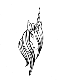 unicorn head clipart 52