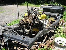 jeep frame 81 cj7 frame parts rusty rusty rusty