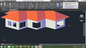 autocad 3d house modeling tutorial beginner basic using autocad
