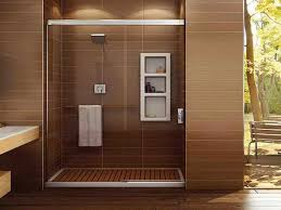 doorless walk in shower small bathroom u2014 interior exterior homie
