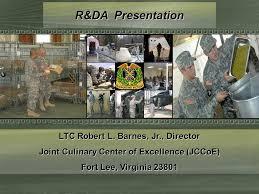 Robert Barnes Jr R U0026da Presentation Ltc Robert L Barnes Jr Director Joint