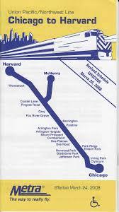 Metra Train Map Chicago metra
