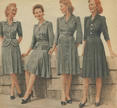 which style decade do you belong in 1940s military and rock