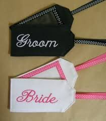 and groom luggage tags mr mrs luggage tags the paisley box shop