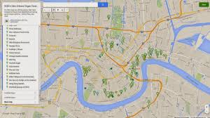 Tourist Map Of New Orleans by New Orleans In Green Nola Area Vegan Friendly Joints