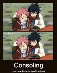 Fairytail Memes - i knew deep down they were both best buddies anime pinterest