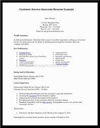 resume objective for customer service representative objective