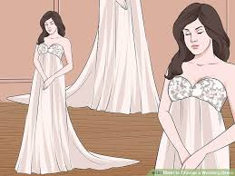 2 wedding dress 5 ways to choose a wedding dress wikihow