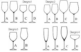 posizione bicchieri in tavola bicchieri da vino il calice giusto per ogni degustazione