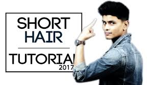 easy short hairstyle for indian men how to style short hair