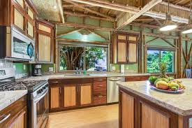tropical kitchen custom 2 story signature bali on the big island tropical