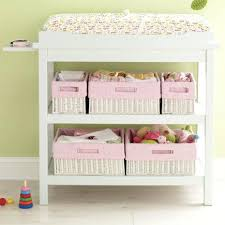 Changing Table Storage Baskets Changing Table Baskets Storage Image Changing Table Storage Bins