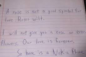 here is the greatest love letter mankind has ever known the