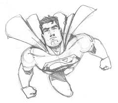 superman quick sketch by fabiocralves on deviantart