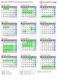 Kalender 2018 Feiertage Mv Kalender 2018 Ferien Mecklenburg Vorpommern Feiertage